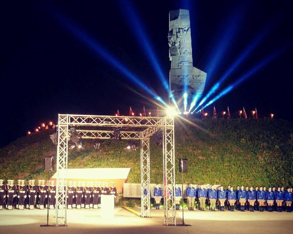 Uroczystości rocznicowe na Westerplatte