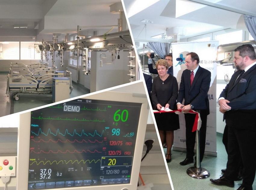 Oddział Kardiochirurgii w Szpitalu Specjalistycznym w Wejherowie już po remoncie. To drugi tego typu ośrodek na Pomorzu