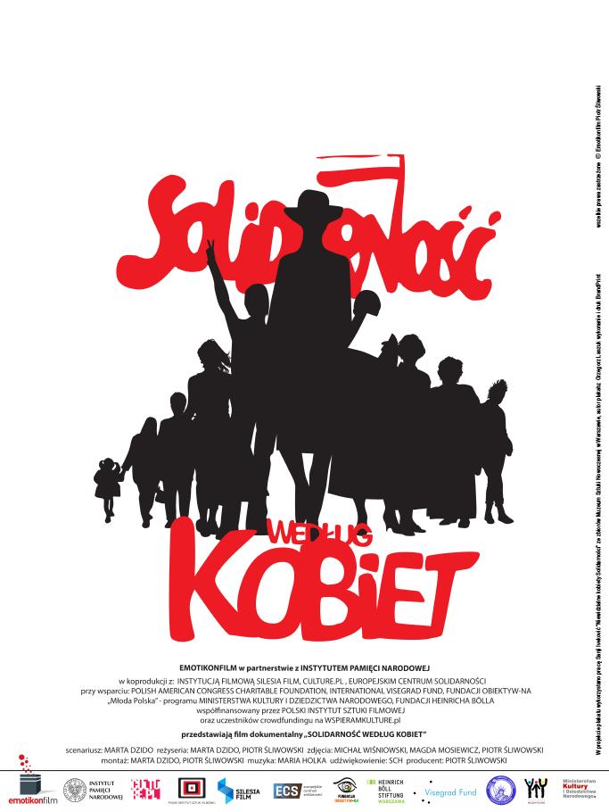 Plakat filmu Solidarność według kobiet