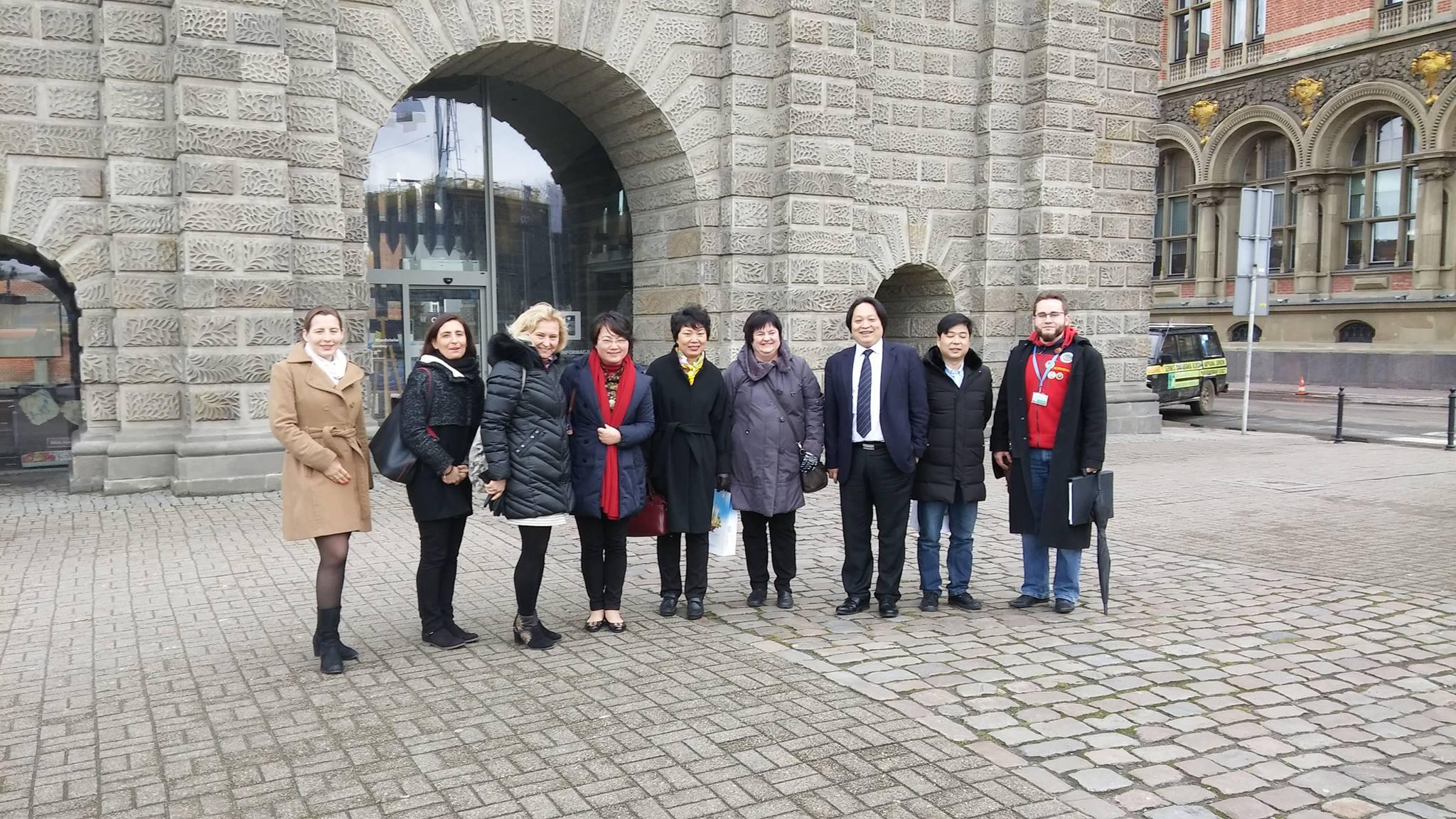 Spotkanie z przedstawicielami chińskiej branży turystycznej z Szanghaju