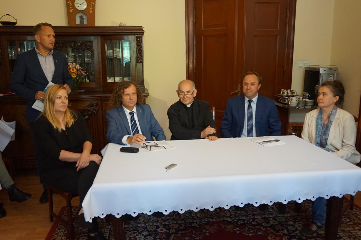 Konferencja prasowa w Sopocie