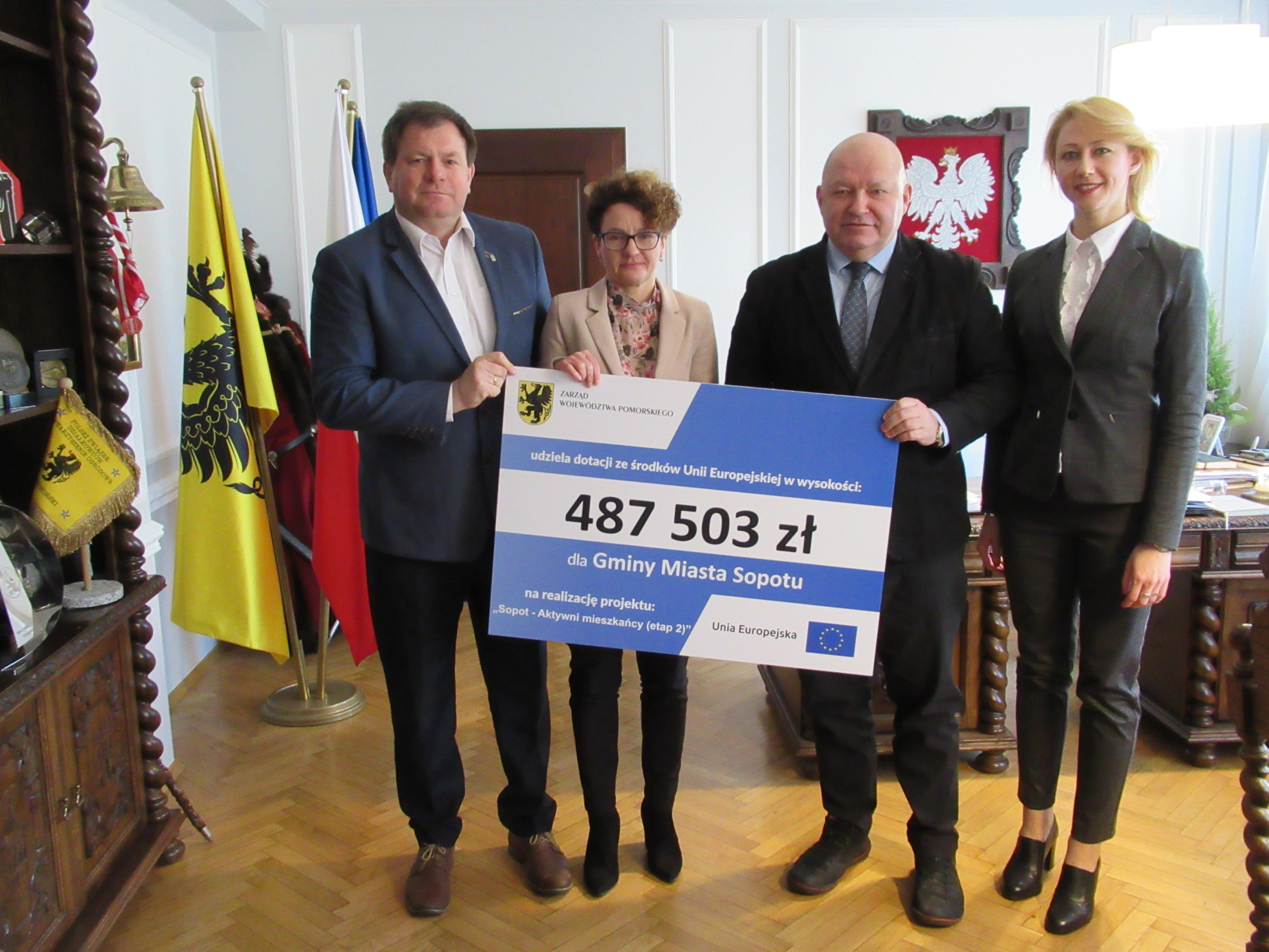 Prawie pół miliona złotych dla mieszkańców Sopotu. Wsparcie uzyska 39 osób