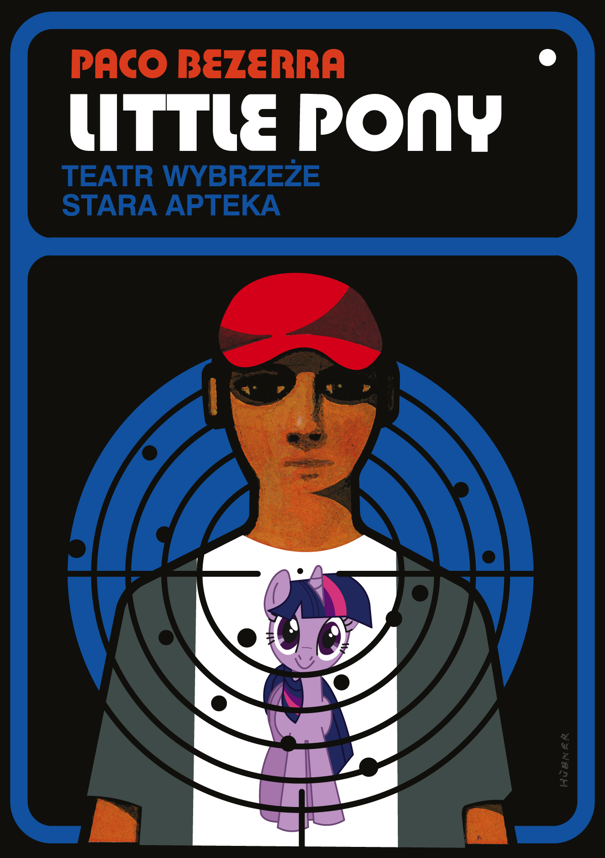 Plakat do spektaklu Little Pony
