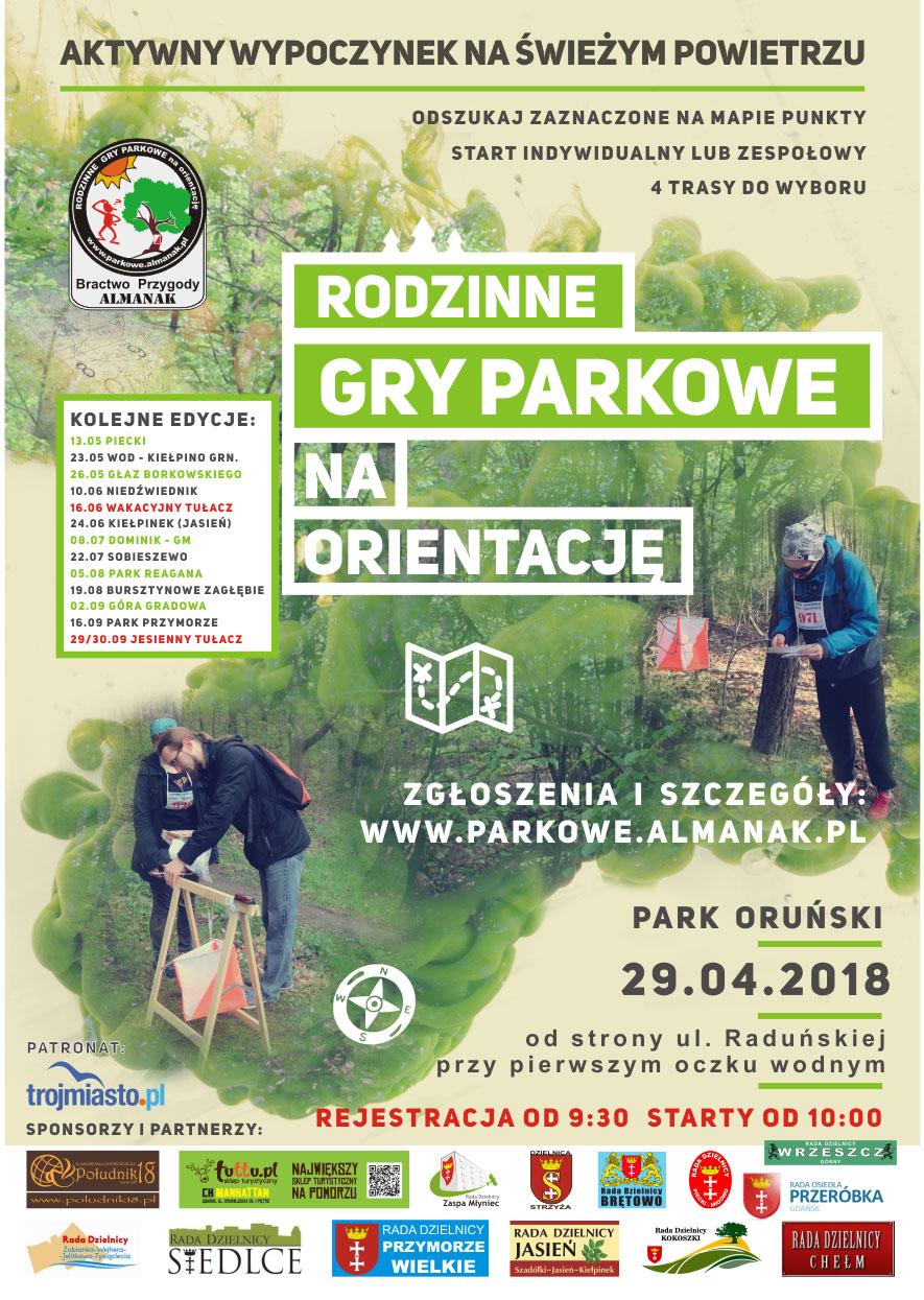 Gry na orientację_plakat