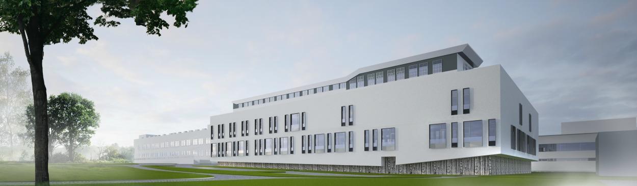 Wizualizacja rozbudowy Szpitala św. Wojciecha w Gdańsku