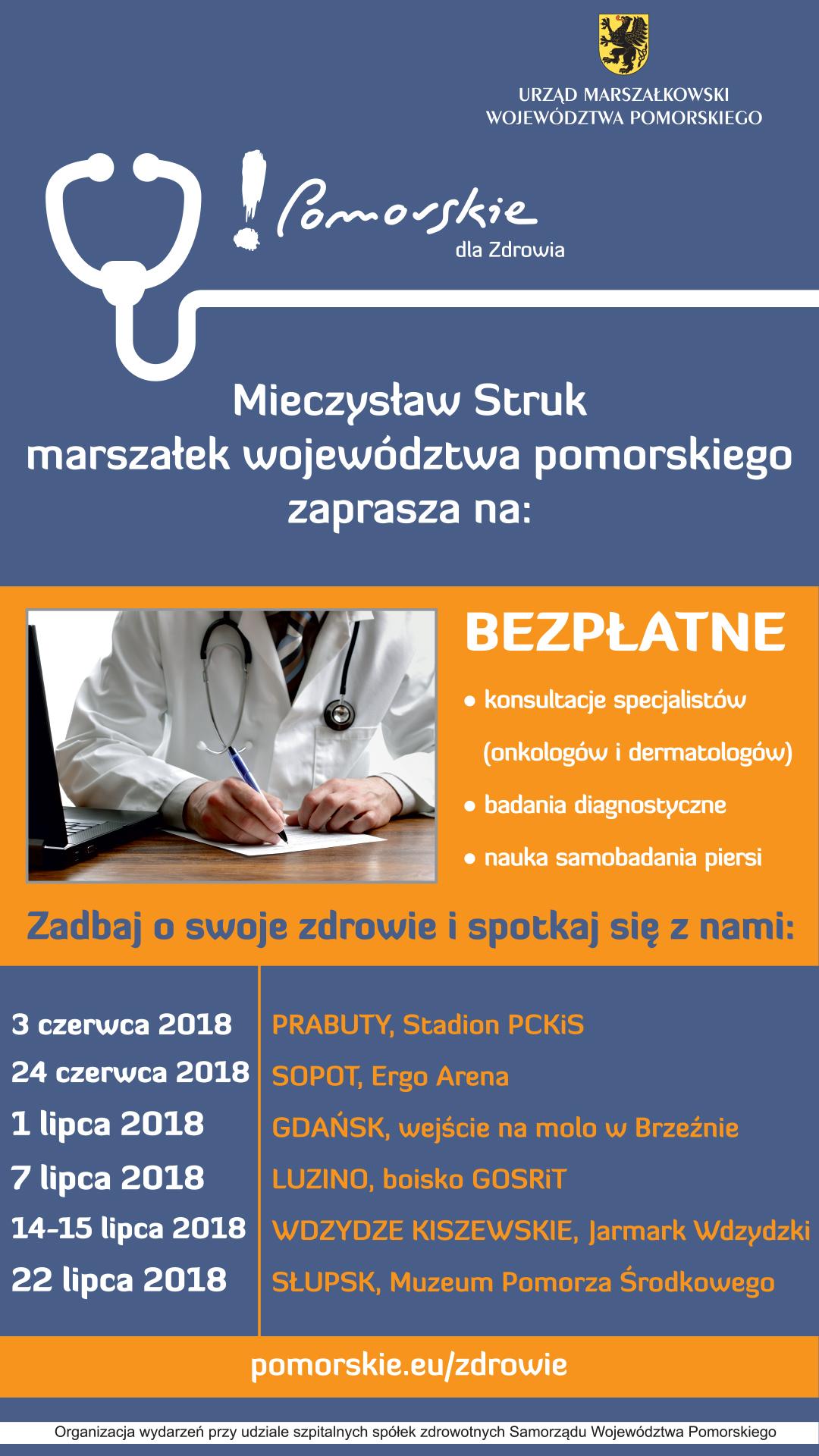 Pomorskie dla Zdrowia_plakat