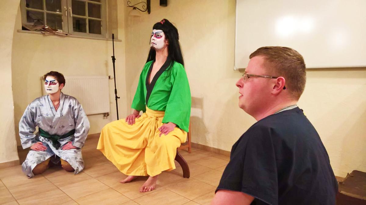 Japoński teatr po kaszubsku i spotkanie z gośćmi specjalnymi. Wieczór polskiej i kaszubskiej poezji w Wejherowie