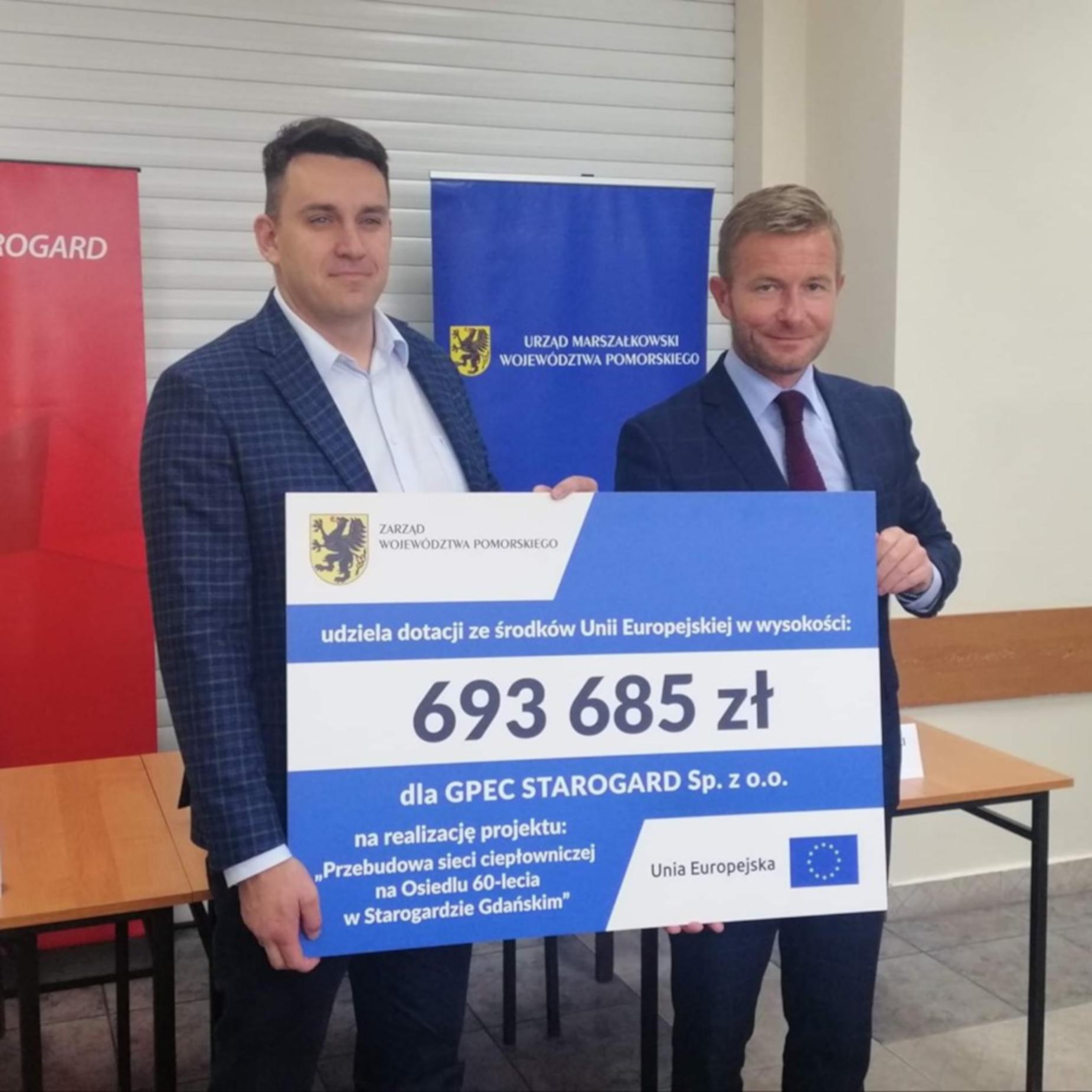 Ogrzewanie w Starogardzie Gdańskim będzie bardziej eko. Unijne dofinansowanie modernizacji sieci