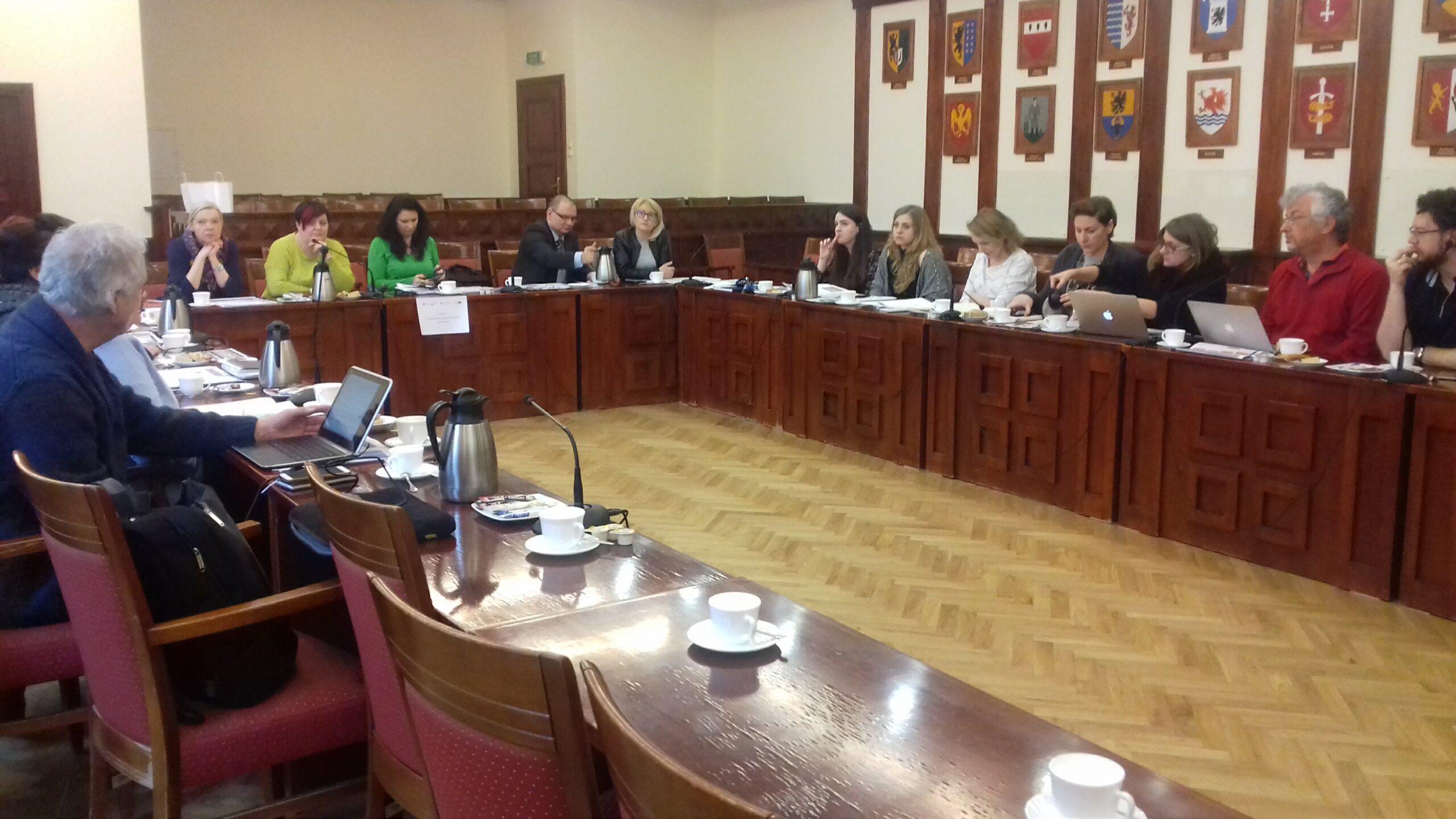XI posiedzenie Pomorskiego Komitetu Rozwoju Ekonomii Społecznej