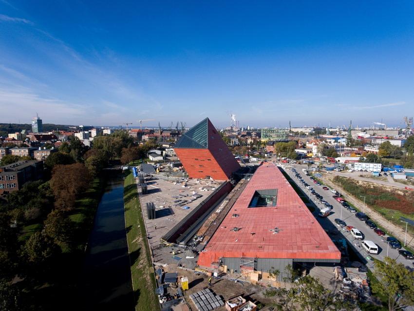 Muzeum II Wojny Światowej, nowy obiekt na turystycznej mapie Gdańska. Fot. Dominik Werner