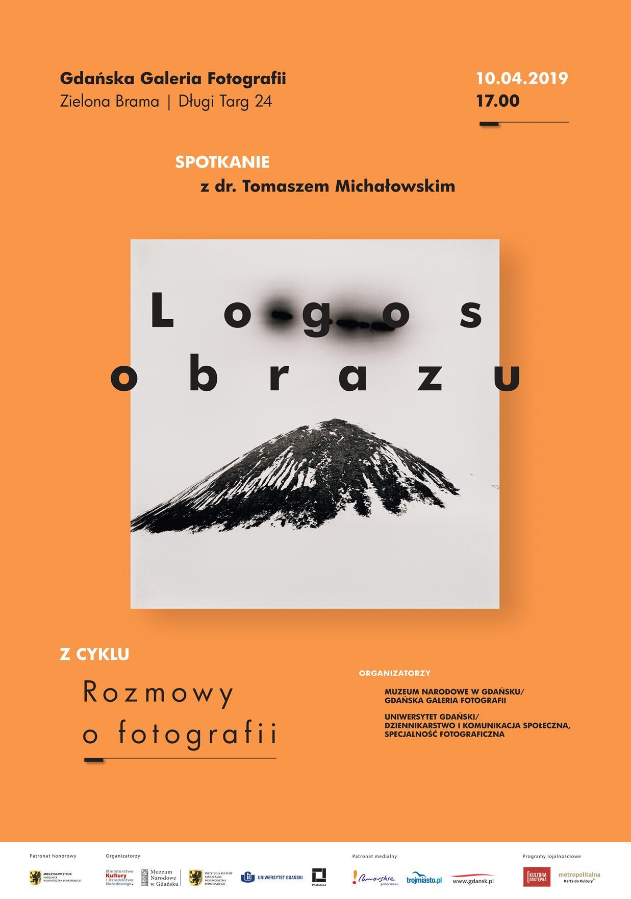 Plakat spotkania Logos obrazu