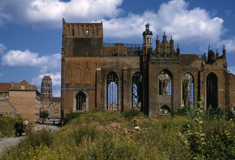 Ruiny kościoła św. Piotra i Pawła w Gdańsku