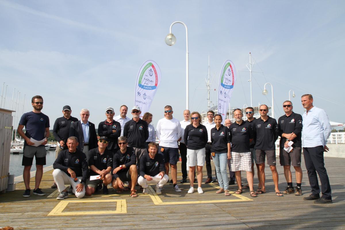 Sopot. Wystartowały Morskie Żeglarskie Mistrzostwa Polski załóg dwuosobowych