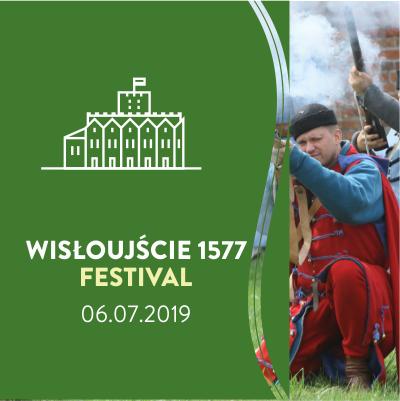 Baner festiwalu Wisłoujście 1577