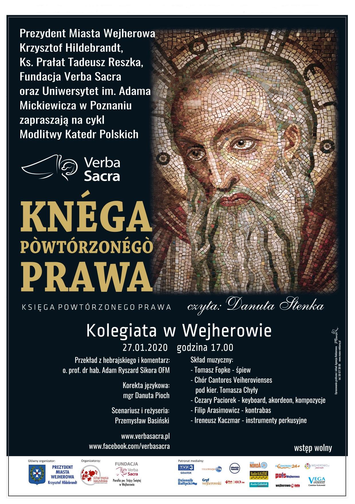 Plakat Verba Sacra 2020
