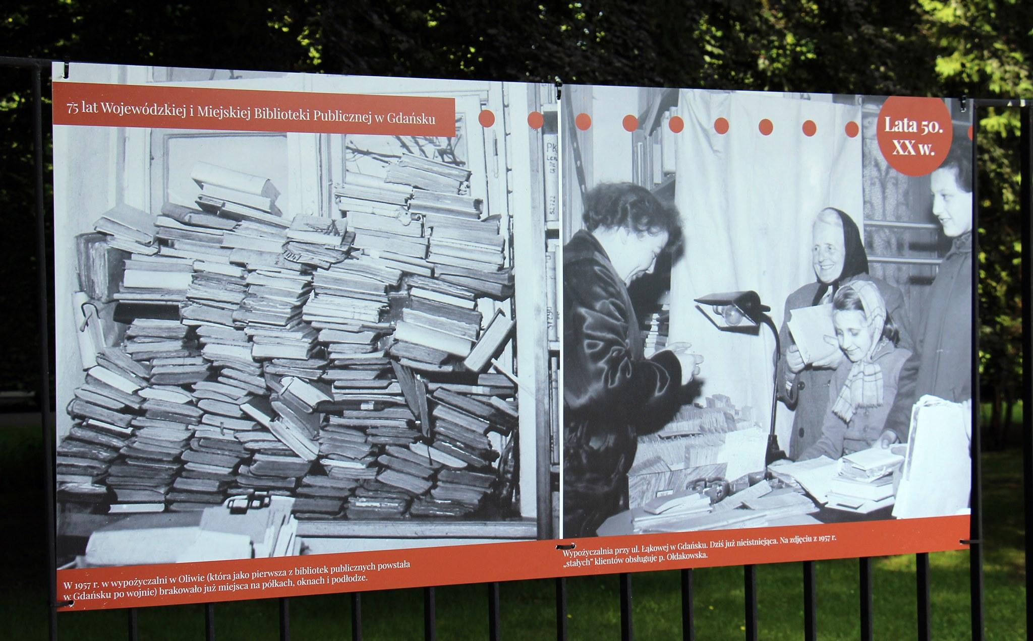 Konkurs plastyczny, gra miejska i wystawa fotograficzna. Gdańska biblioteka świętuje swoje 75. urodziny