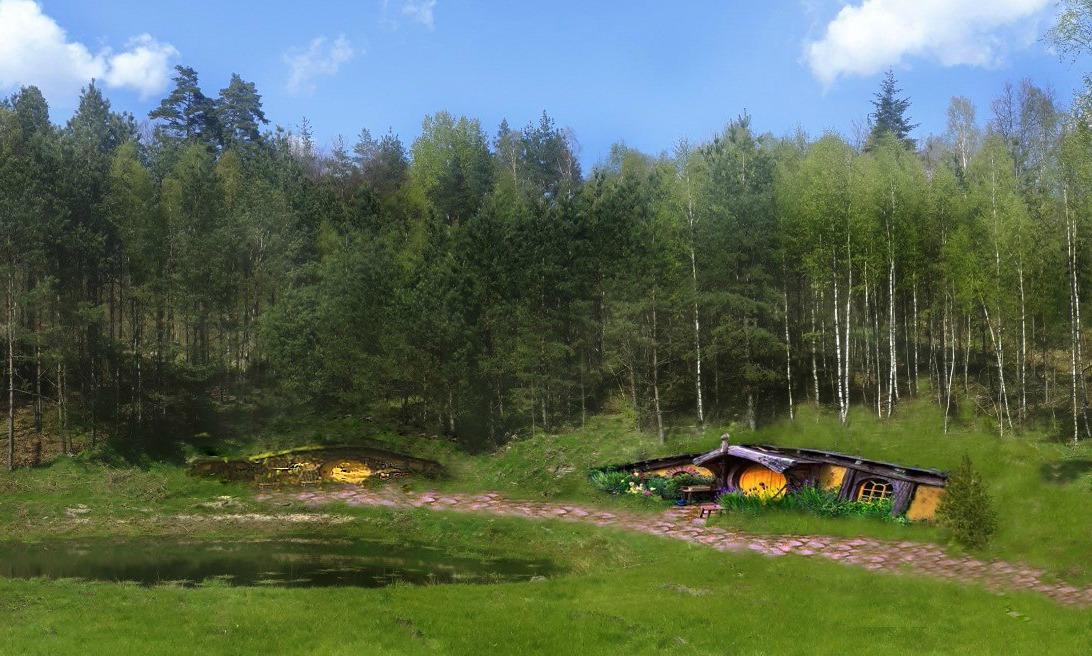 Wioska hobbitów powstaje na Kaszubach. Budowa pierwszej norki ma ruszyć w sierpniu