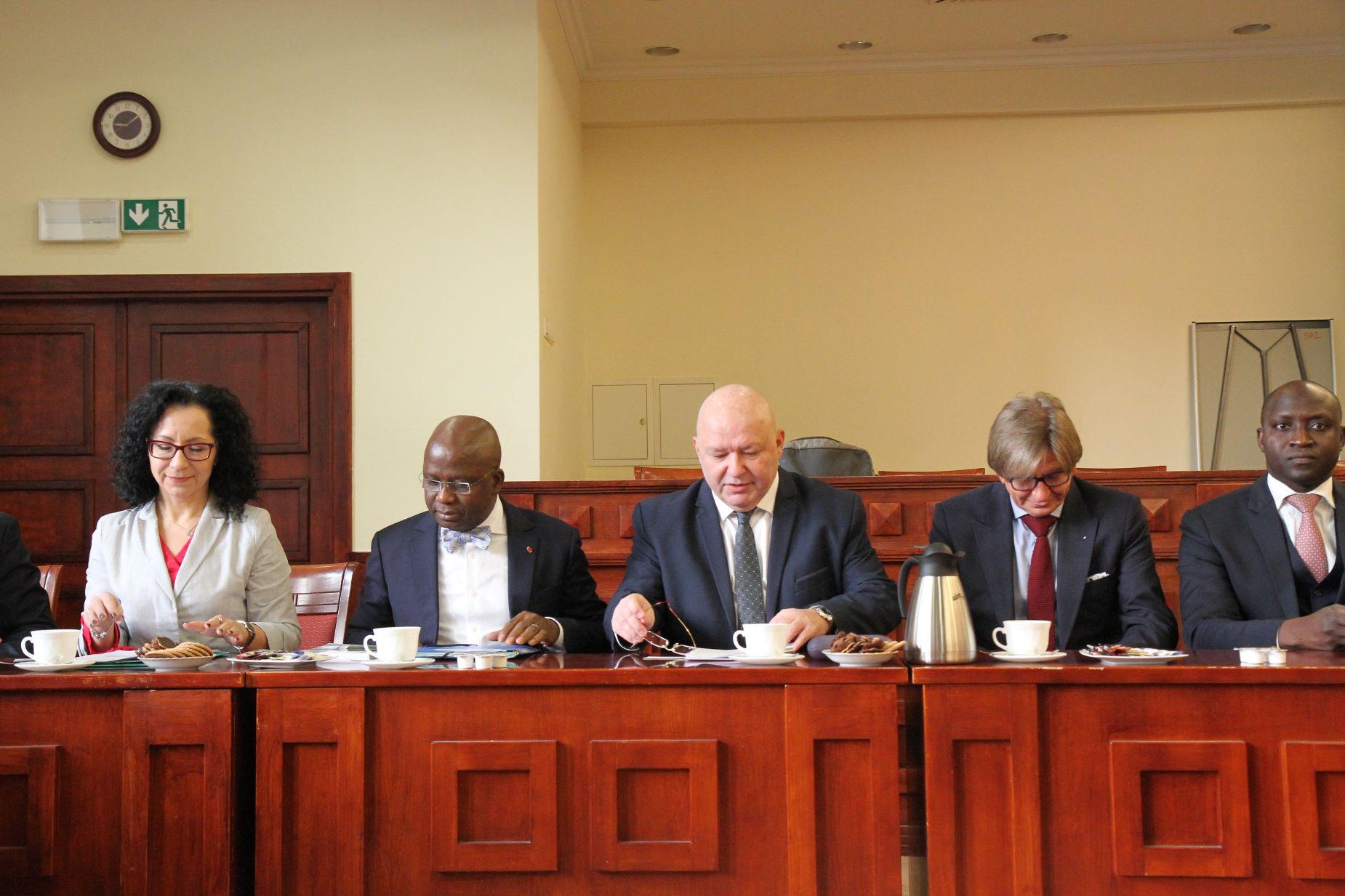 PIerwsza taka wizyta. Delegacja z Wybrzeża Kości Słoniowej odwiedziła Pomorze
