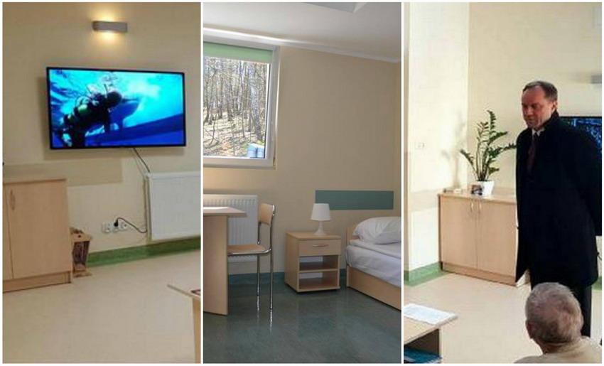 Pokój w hostelu zamiast pobytu w szpitalu. W jakich warunkach mieszkają pacjenci w Gdyni?