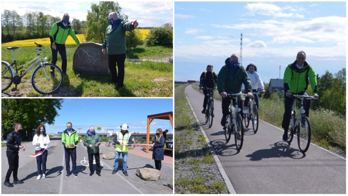Nowe odcinki tras rowerowych w Pomorskiem. Oficjalnie otwarty został szlak o długości 30 km