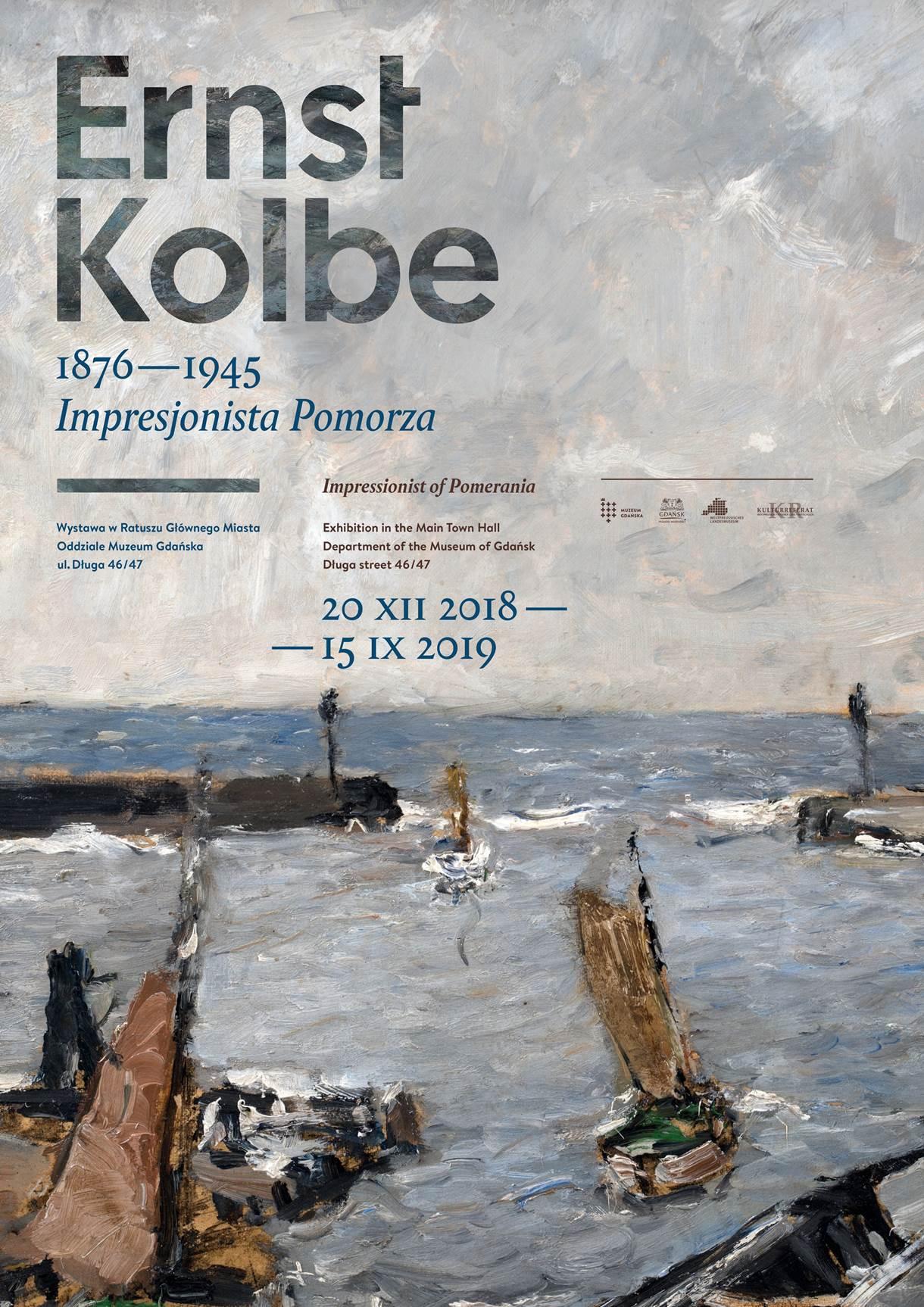 Plakat wystawy Impresjonista Pomorza
