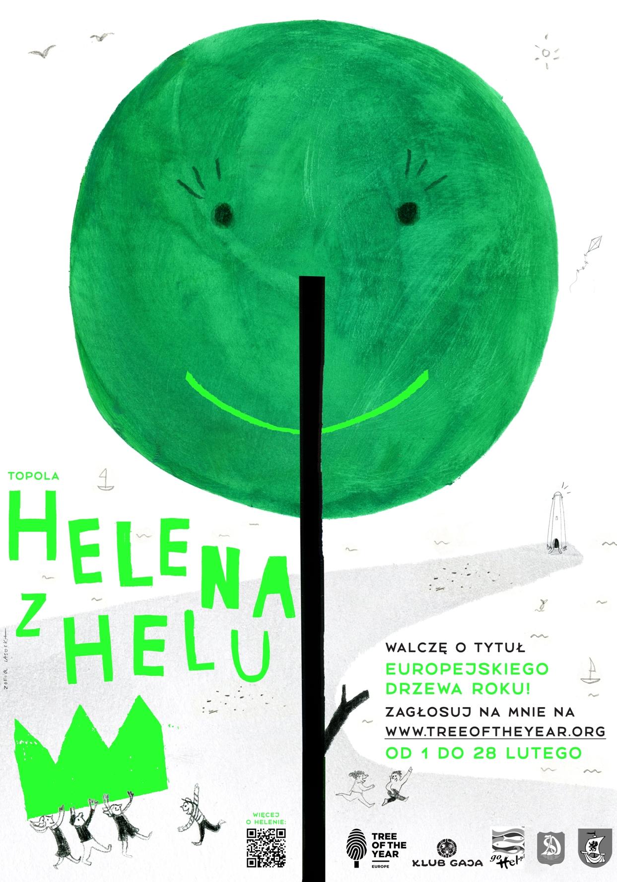 Topola Helena z Helu - plakat