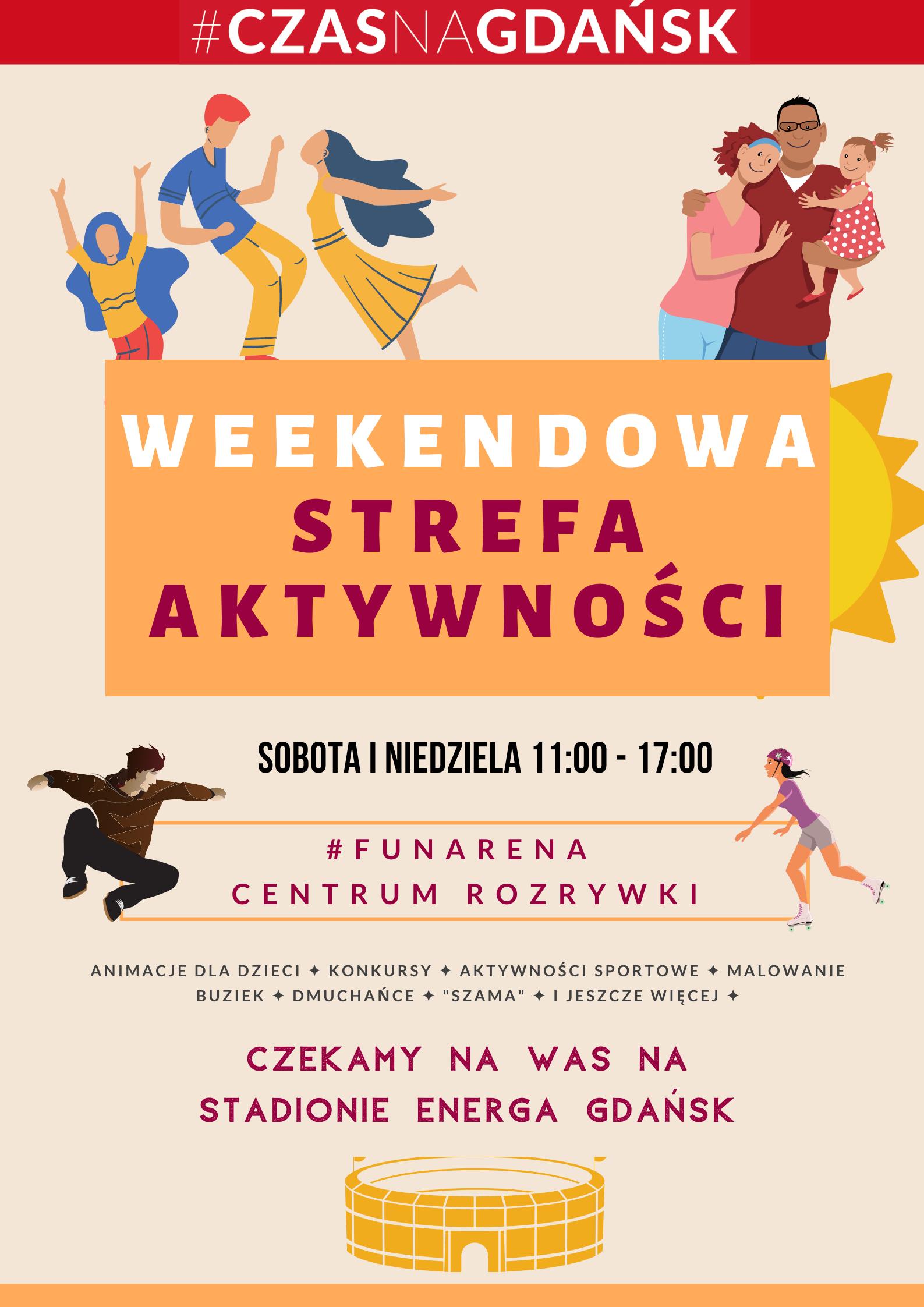 Weekendowa strefa aktywności_plakat