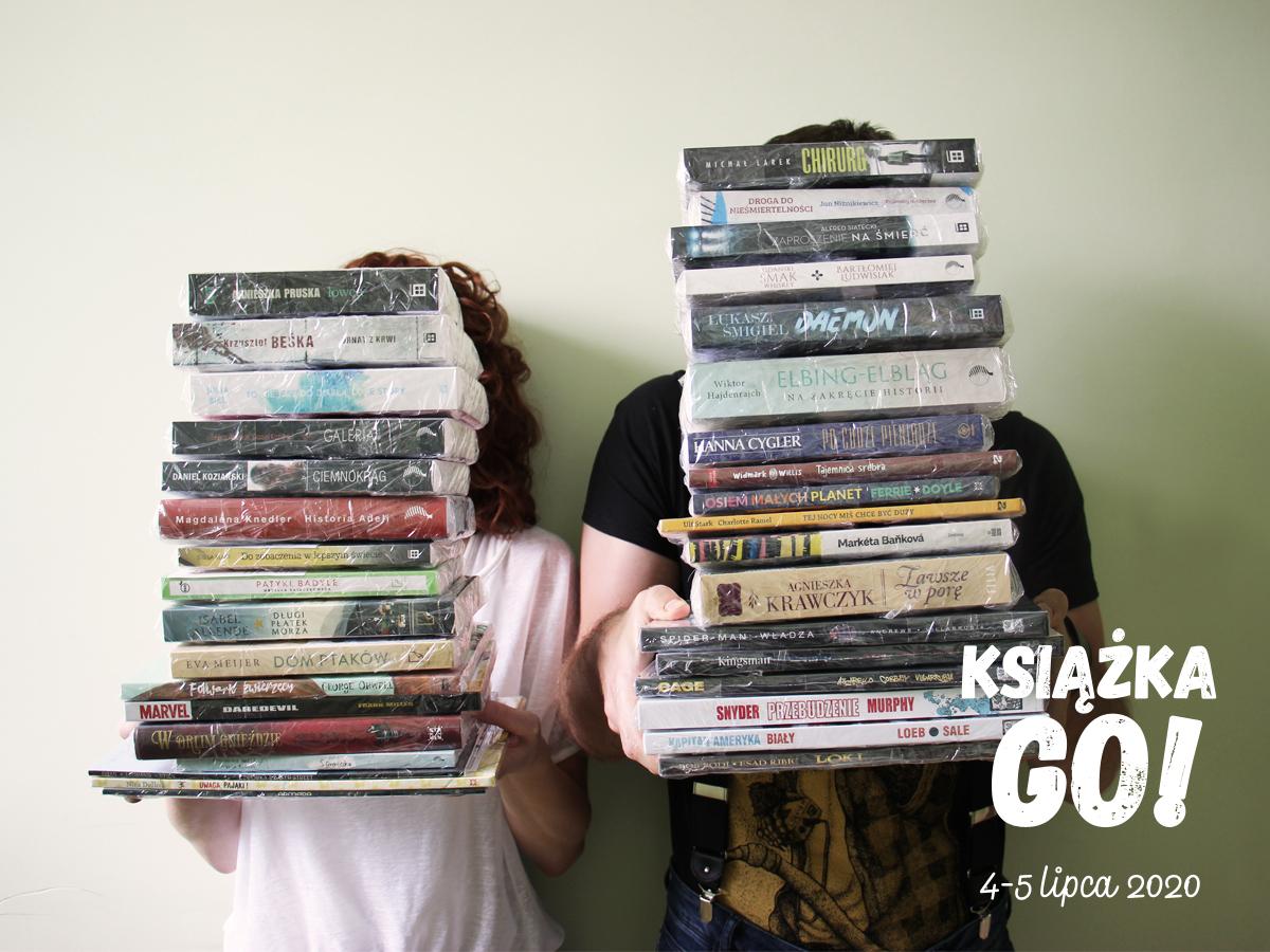 Do odkrycia 75 tytułów, m.in.: książki dla dzieci,  komiksy i powieści. Gra miejska Książka Go w ten weekend