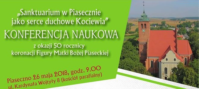 """Konferencja """"Sanktuarium w Piasecznie, jako serce duchowe Kociewia"""""""