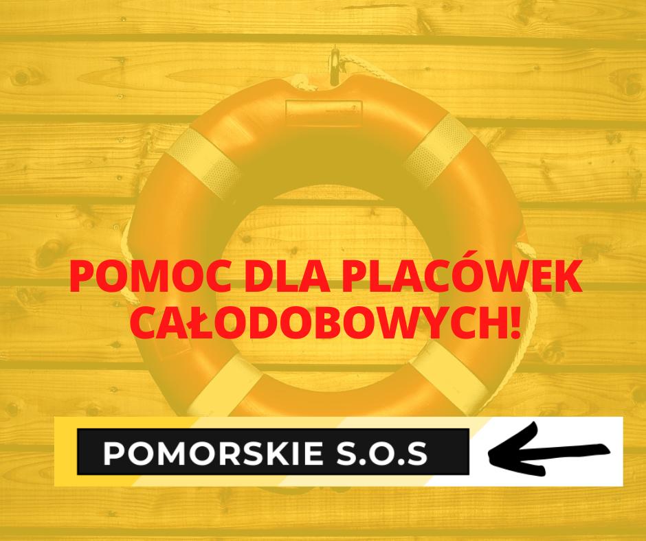 Środki na wsparcie dla placówek całodobowych w związku z epidemią COVID-19. Rusza projekt Pomorskie S.O.S