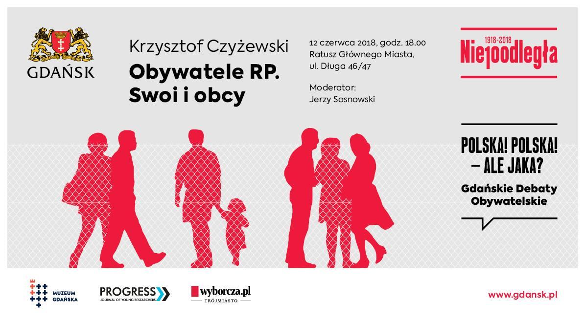 Baner Gdańskiej Debaty Obywatelskiej