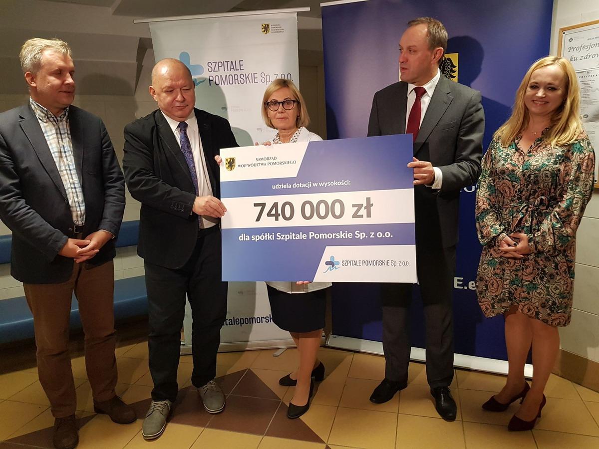 Są pieniądze na zakup sprzętu skradzionego ze Szpitala Morskiego im PCK. Marszałek odpowiada na apel Szpitali Pomorskich i przekazuje 740 tys. zł