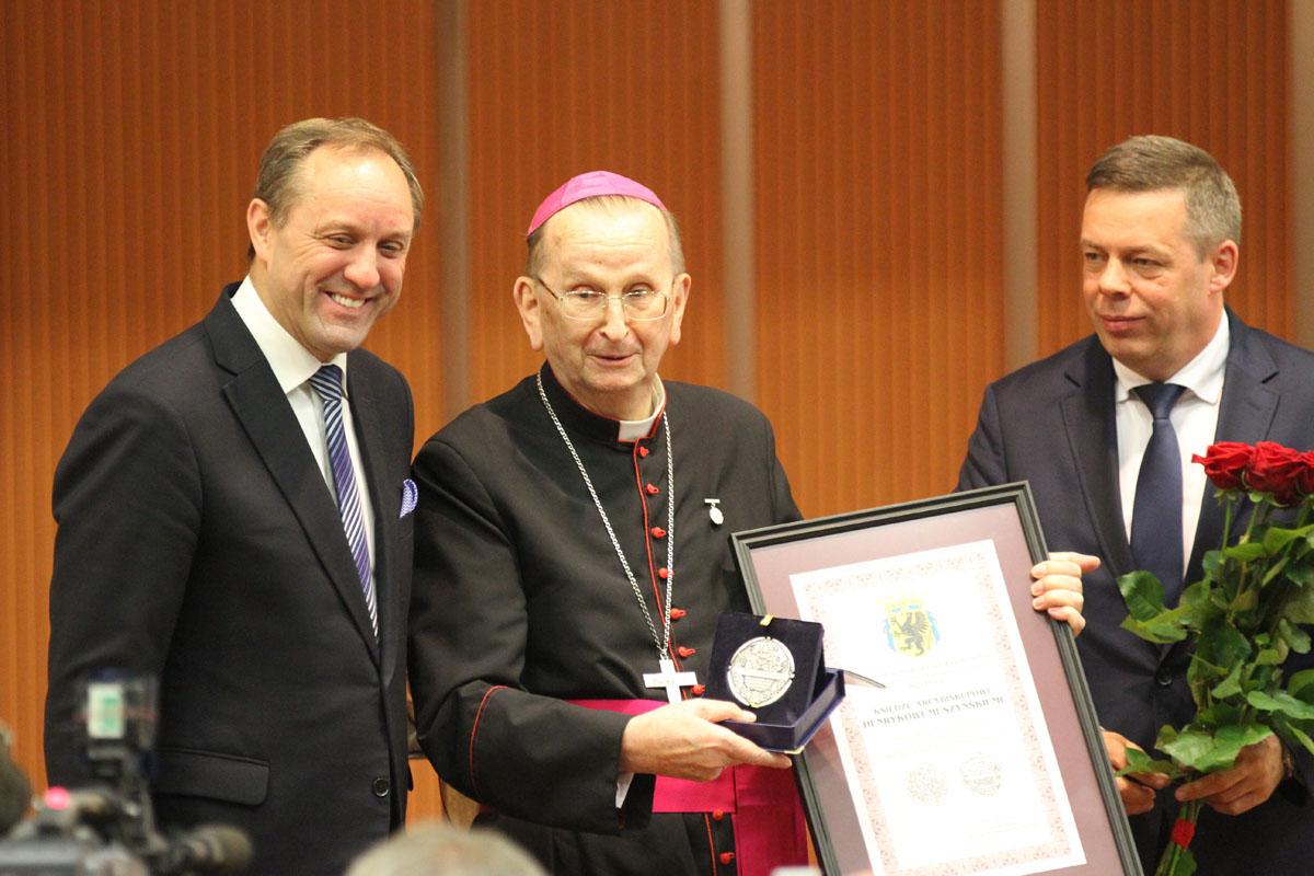 Honorowe wyróżnienie dla abp. Henryka Muszyńskiego [AKTUALIZACJA]