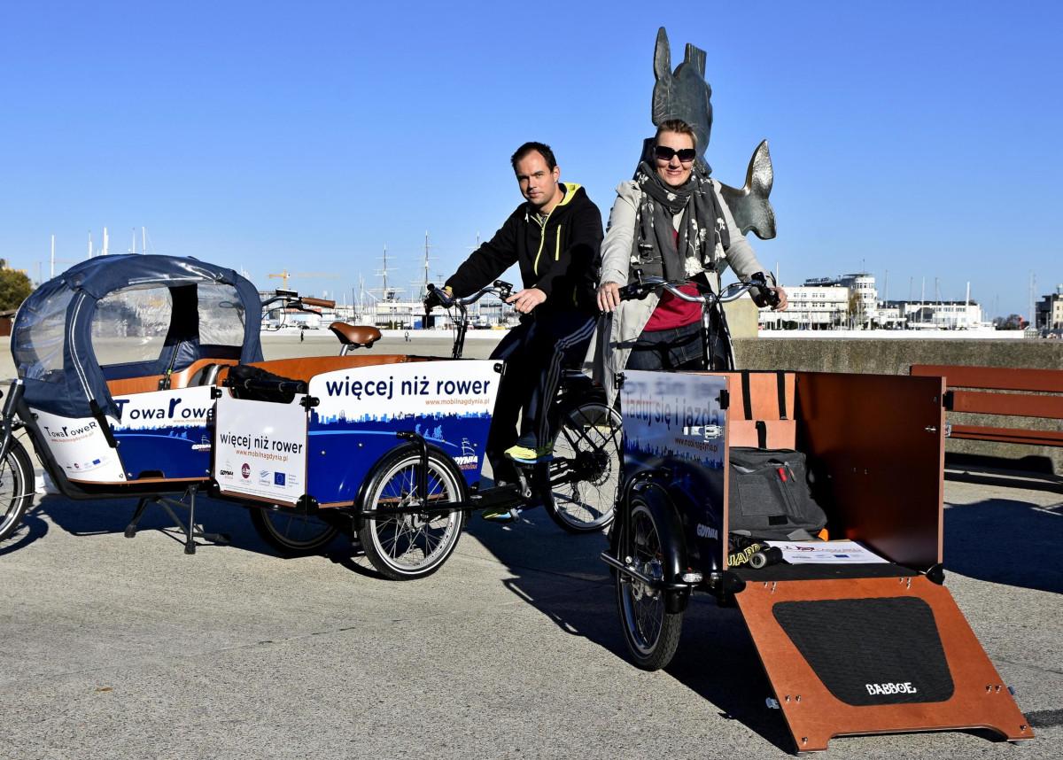Rowery do zadań specjalnych. Już w najbliższy weekend w Gdyni Ogólnopolski Zlot Rowerów Towarowych