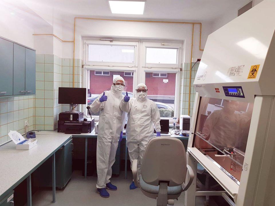 Laboratorium w kościerskim szpitalu wykonało 500 badań. U nikogo nie potwierdzono zakażenia koronawirusem