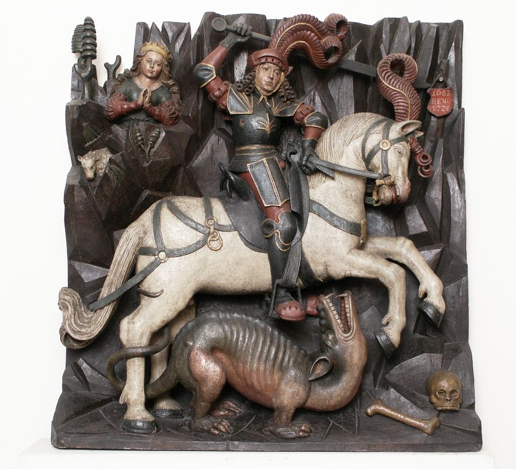 Walka św. Jerzego ze smokiem