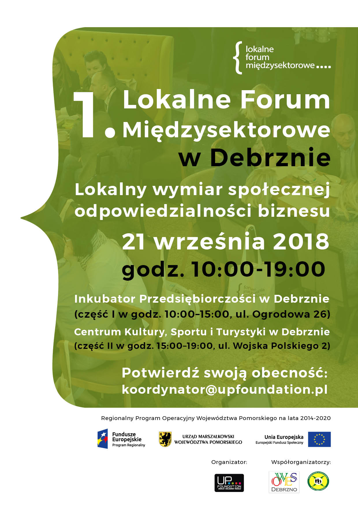 Lokalne Forum Międzysektorowe w Debrznie