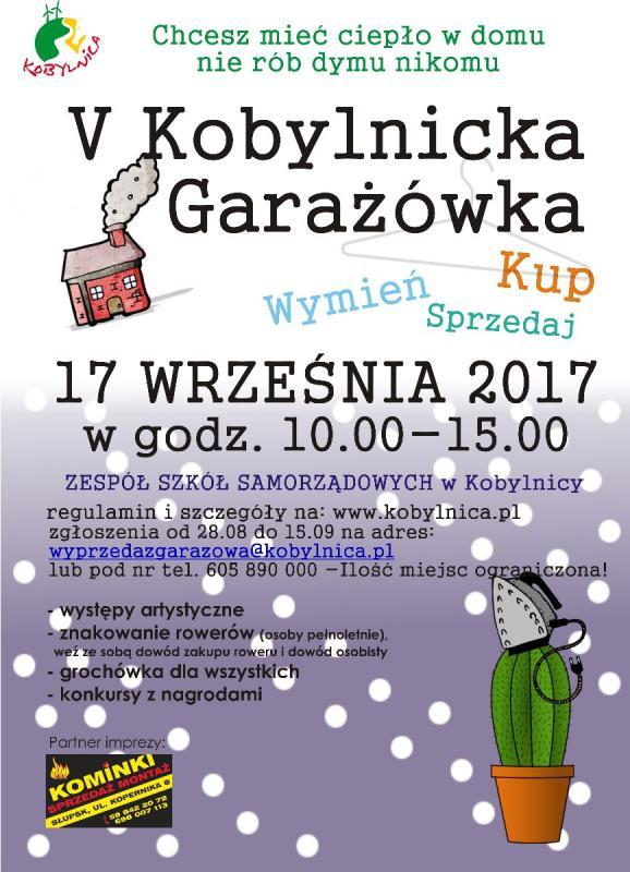 Kobylnicka Garażówka - plakat