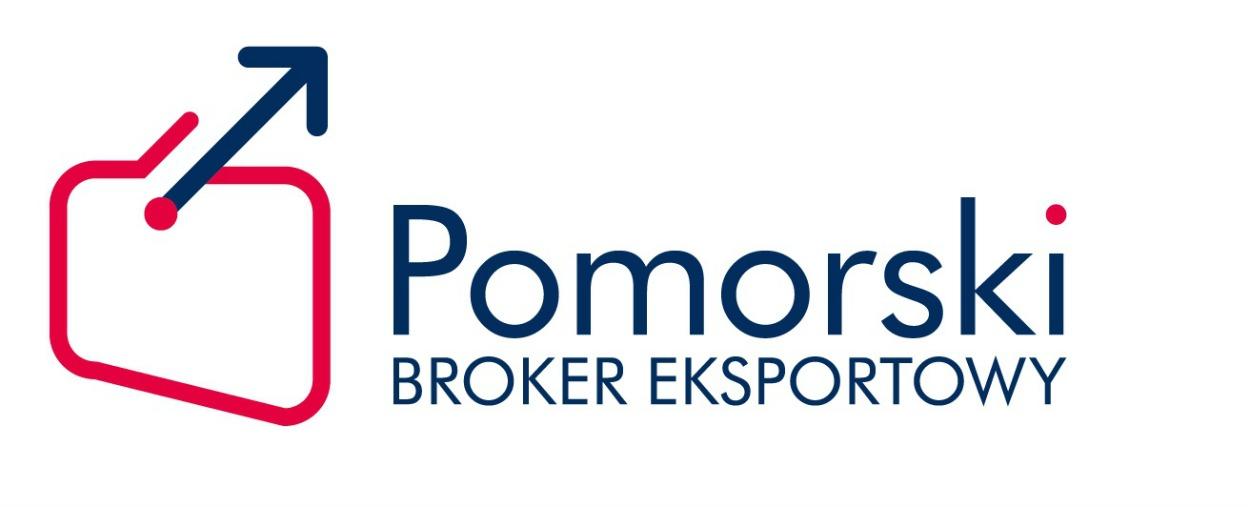 Logo Pomorskiego Brokera Eksportowego