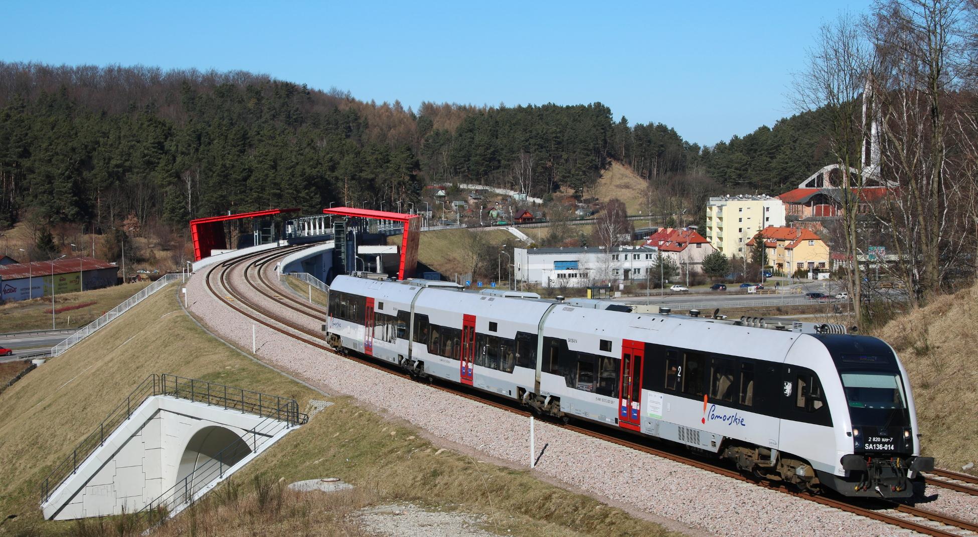 PKM z kolejnym rekordem. W marcu 2018 r. pociągi przewiozły ponad 300 tys. pasażerów