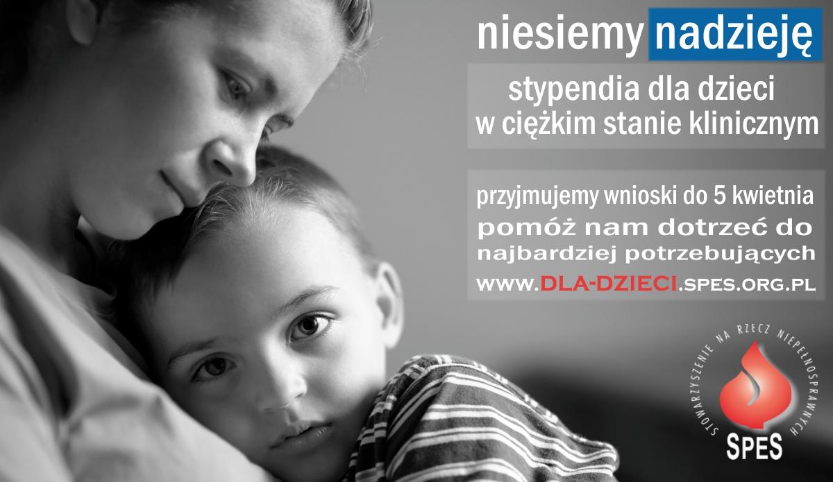 Program Pomocy Dzieciom – stypendia dla dzieci w ciężkim stanie klinicznym