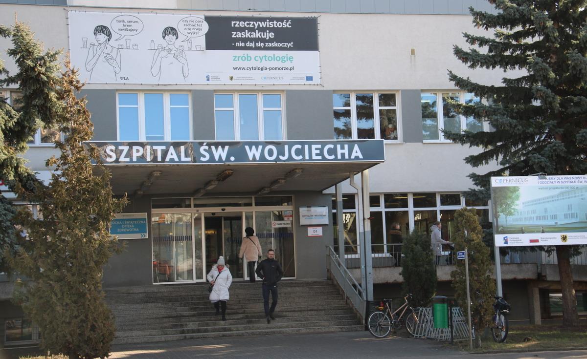 Pracownik OIOM-u w szpitalu na Zaspie zakażony koronawirusem. Oddział działa normalnie