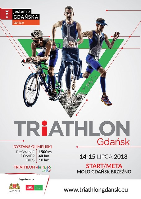 Triathlon Gdańsk_plakat