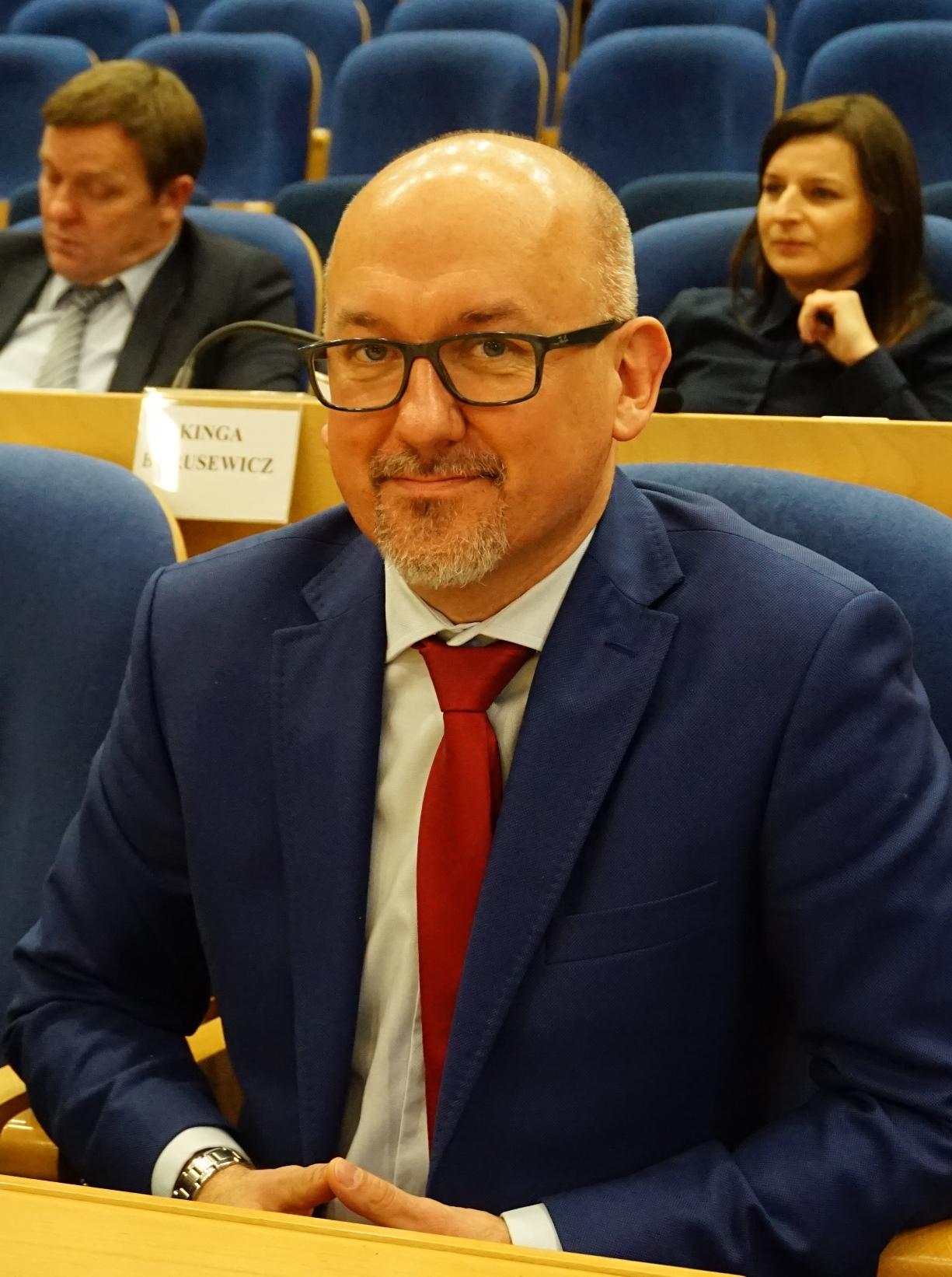 Radny Rafał Neumann