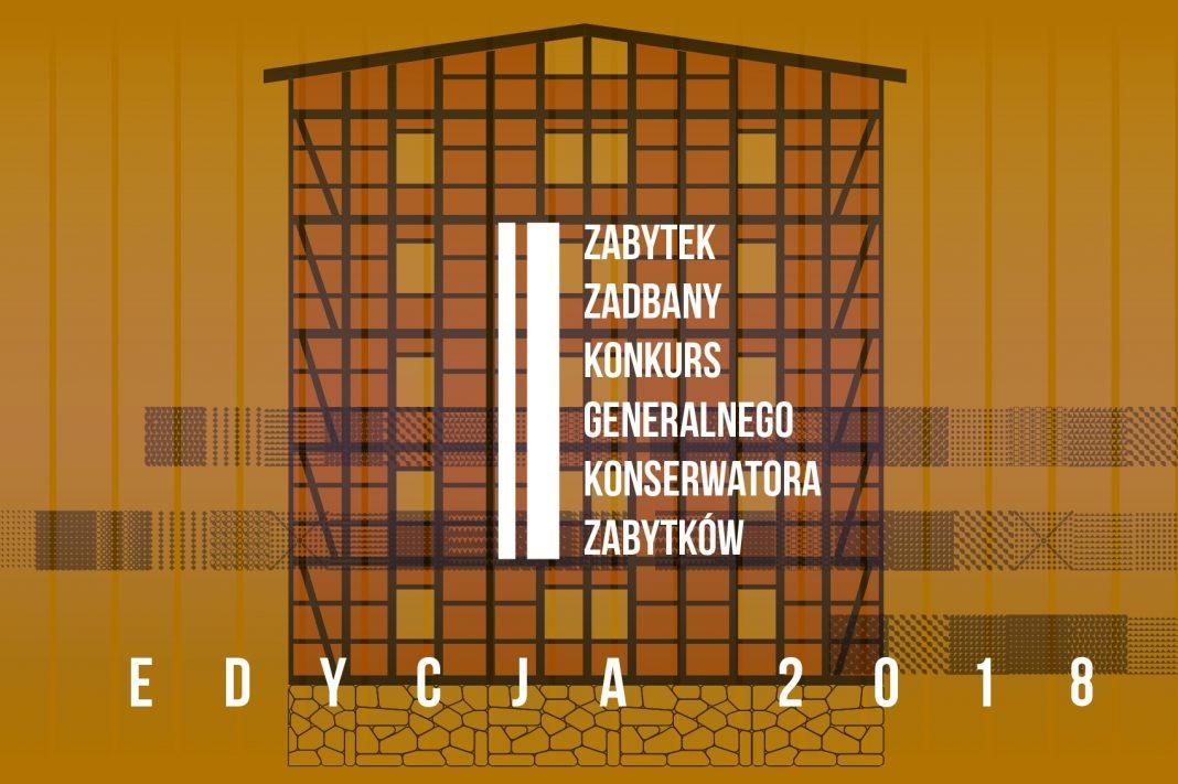 Baner konkursu Zabytek zadbany 2018