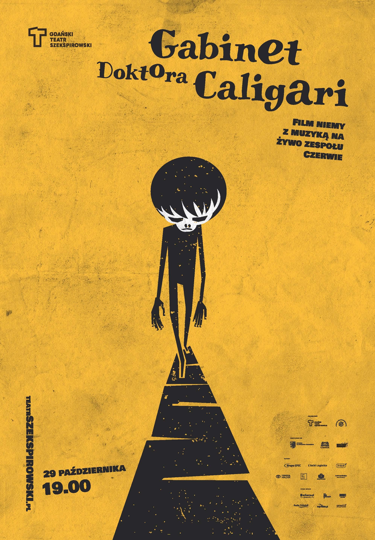 Gabinet Doktora Caligari _plakat
