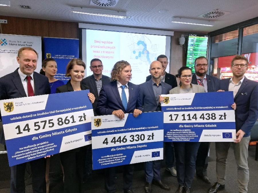 Aneksy do umów podpisane. Będą dodatkowe pieniądze z Unii Europejskiej na inwestycje w Trójmieście i nie tylko