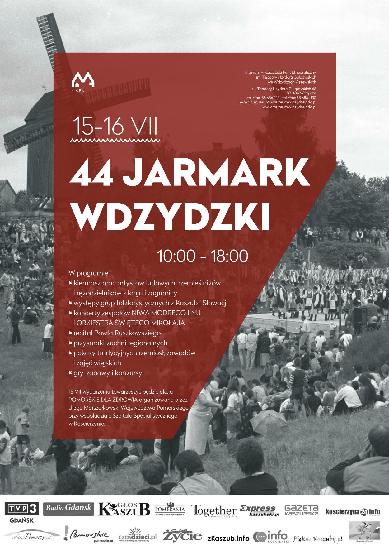 44. Jarmark Wdzydzki