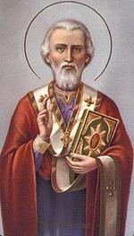 Święty Mikołaj, biskup Miry. Fot. www.