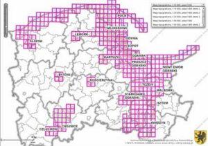 Skorowidze map i materiałów kartograficznych na obszarze województwa pomorskiego - link